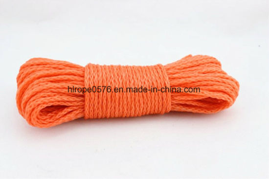 3/8 Inch PE Hollow Braided Water Ski Towing Rope Orange