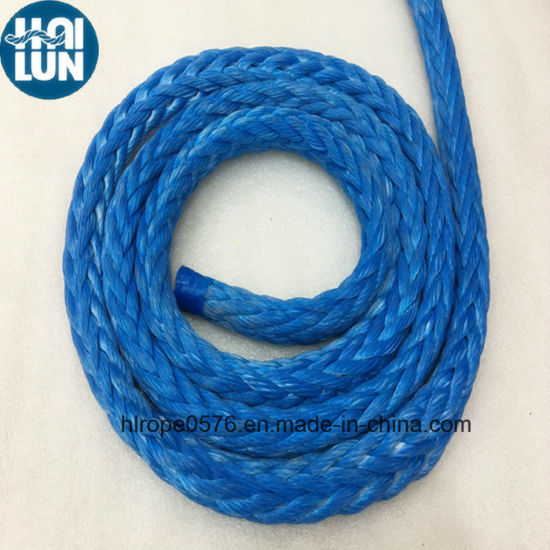 High Breaking Strength UHMWPE Towing Rope for Mooring Offshore and Ship