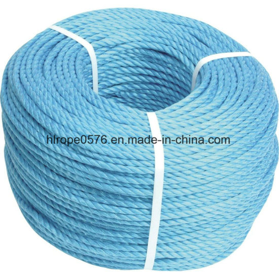 Blue Polypropylene Rope, 8mm Diameter 30m Coil