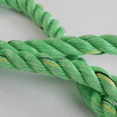 3 Strand Green PP Rope Polypropylene Rope for Marine