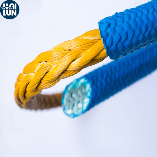 UHMWPE Rope Polyester Cover