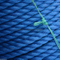 3 Strand Blue Fishing PP Rope with ABS Certification