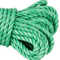 Factory Wholesale 3strand Green PP Rope Marine Rope for Fishing and Mooring