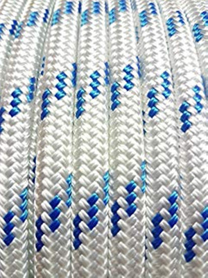 Chemical Resistance Mixed Polyester and Polypropylene Double Braided Rope