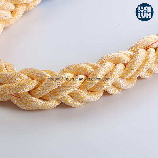 Polypropylene and Polyester Mixed Rope Mooring Rope
