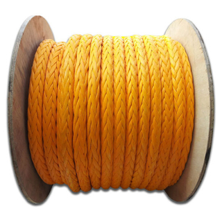 Marine Mooring Braided Winch UHMWPE Rope