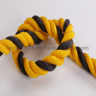 3 Strand Twisted PE Tiger Rope