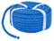 3X Poly Rope 18mx8mm Polypropylene Ropes Blue Camping Agriculture Tarpaulins Tie