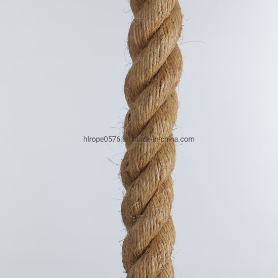 Factory Wholesale Sisal Rope Manila Rope Hemp Rope
