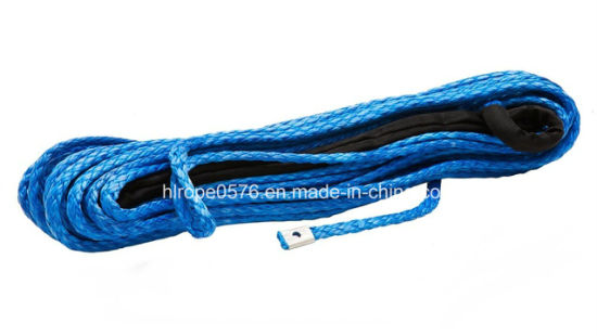 Synthetic Electric Amsteel Tow Winch Rope with Softy Eyelet with Thimble for ATV and SUV Trunk