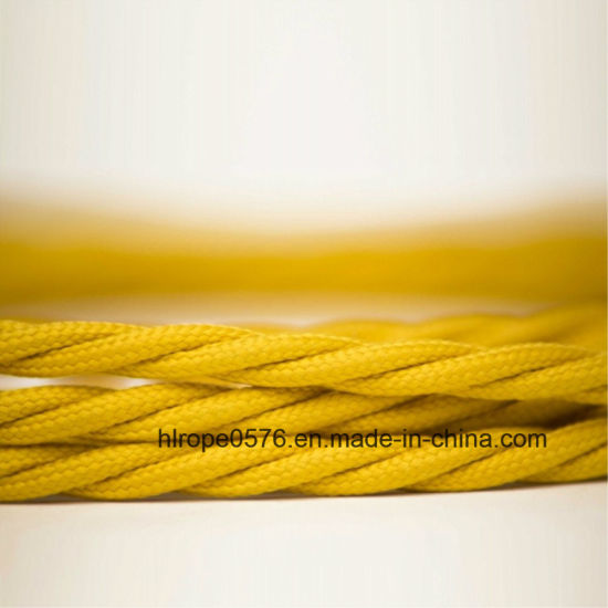 Polyester Elestic Cord Three Strands of Rope Mooring Rope