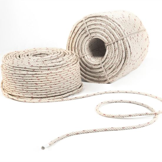 High Quality 3/4 Strand Polypropylene Rope PP/PE Twist Rope for Ship Use