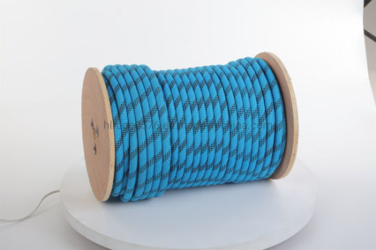 Chemical Fiber Ropes Mooring Rope PP Rope Polyester Rope PE Marine Rope