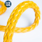 Polyester Cover 12 Strand Synthetic UHMWPE Marine Towing Rope for Mooring Offshore