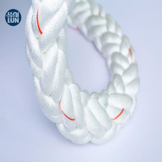 Factory Supplier 8 Strand Polyester Multifilament Rope, Boat Mooring Rope