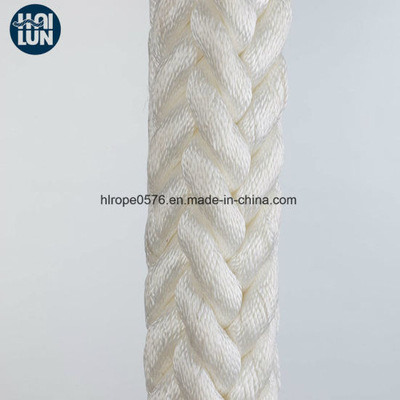 China Factory UV Resistance White Nylon Rope Towing Rope
