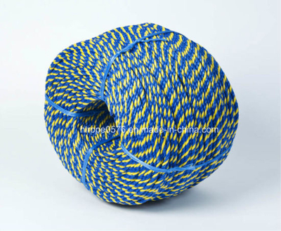 PP Rope Blue and Yellow 10mm