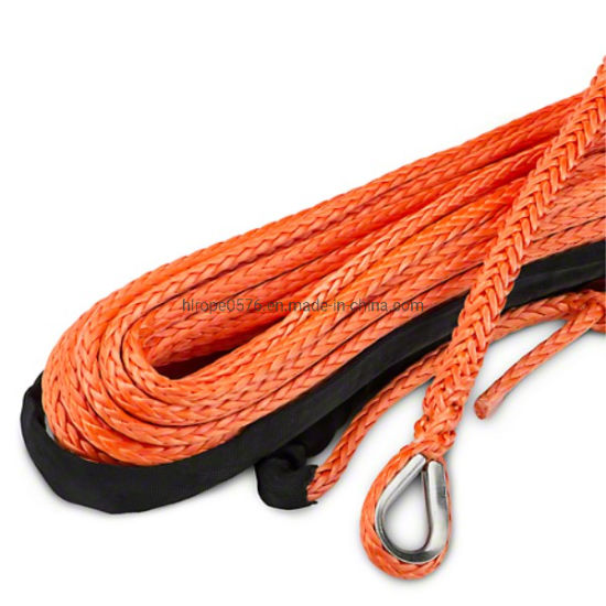 High Strength 12 Strand Colorful Winch Rope for Towing