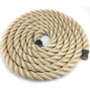 Natural Color High Strength 3 Strands Hemp / Manila / Sisal Rope