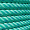 3strand Green PP Rope Marine Rope for Fishing and Mooring