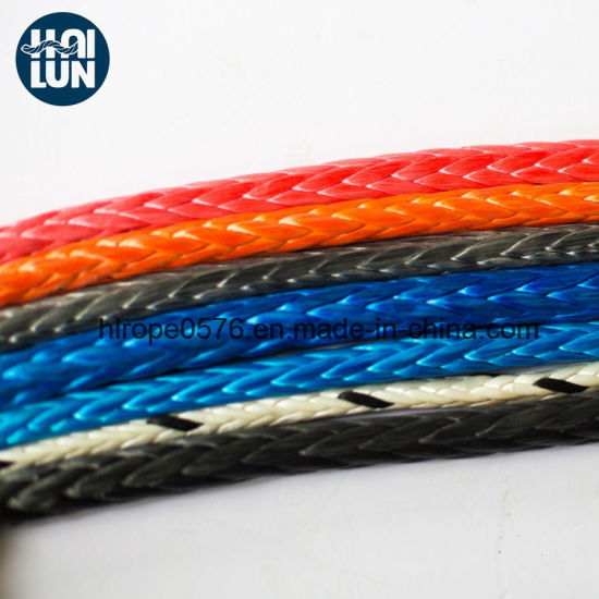 Durable 12-Strand Hmpe/Hmwpe Braided Rope for Fishing and Mooring
