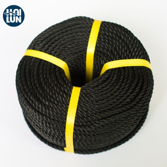 China Factory PE Twist Rope Tiger Rope Fishing and Mooring Rope
