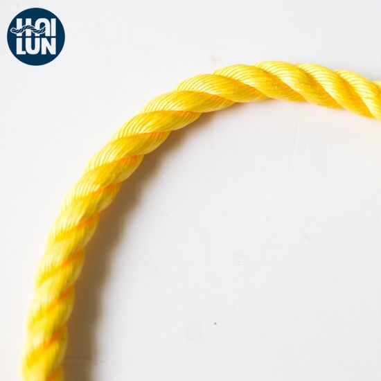 3 Strand PP Rope Polypropylene Rope for Mooring and Fishing
