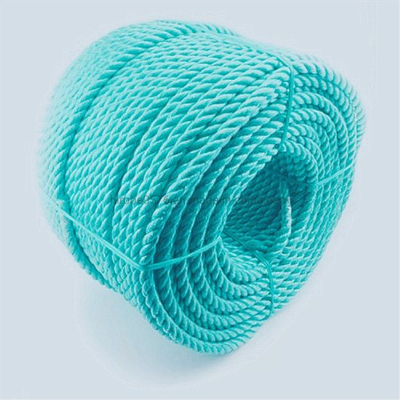 Polypropylene Rope Green3 Strands in Roll
