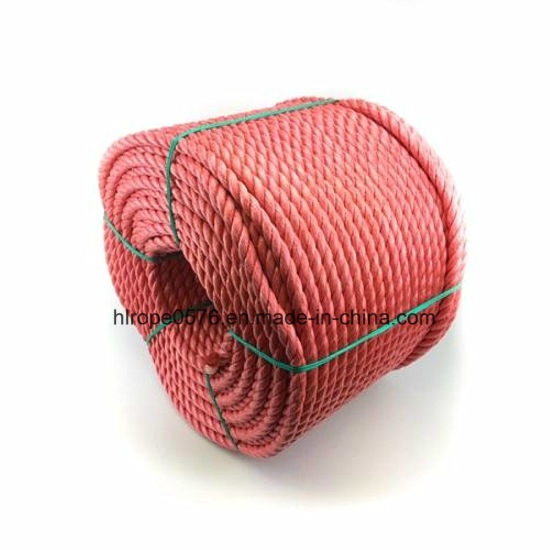 32mm Red Polypropylene Rope 220 Metre Coil