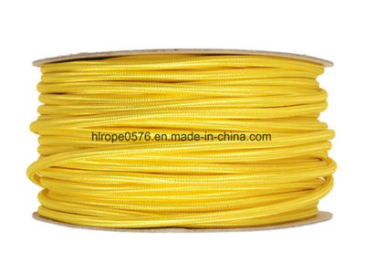 Yellow Lighting Cable 3 Core Round - Urban Cottage Polyester Ship Rope