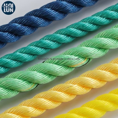3 Strand PP Danline Rope Polypropylene Monofilament Fishing Rope and Mooring Rope