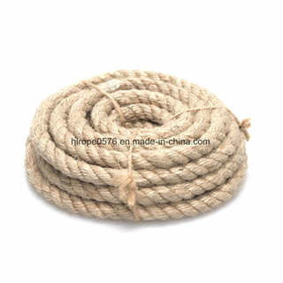 Natural Jute Fiber Rope, 10mm, 5-Yard