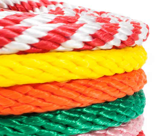 Colourful High Quality Strong Life Good Abrasion Resistance Ploypropylene Ropes