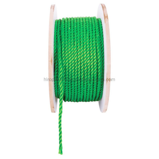 4 Strand Green Color Diameter 14mm 200m Length Per Roll Polypropylene/PP Rope