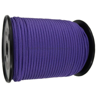 6mm Purple Polyester Braided Polypropylene Multicord Rope