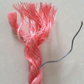 Fishing Equipment Twisted Lead Core Rope for Fishing Net Bottom