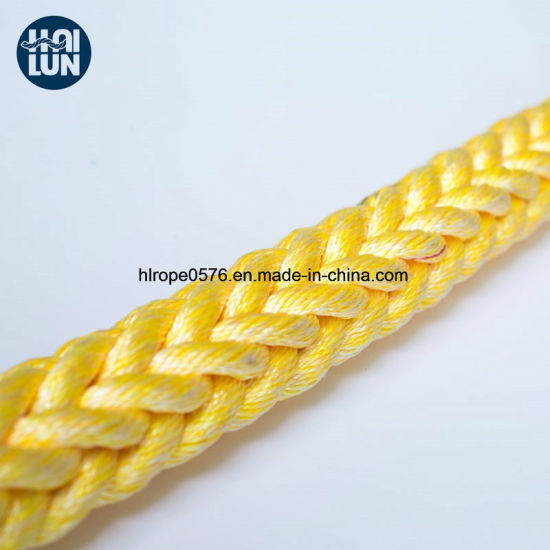 Mixed Rope PP & Polyester Fiber Mooring and Fishing Rope