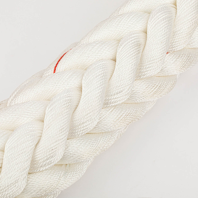 Dia 24mm 120mm 12strands Marine Ship Mooring Polyester Rope