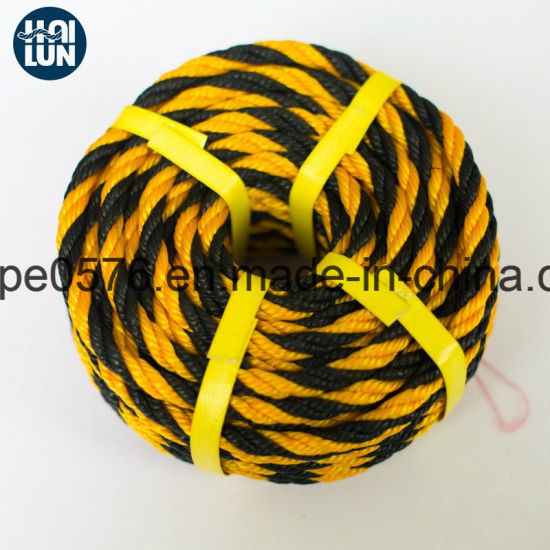 Colorful Polypropylene Tiger Rope Fishing Rope