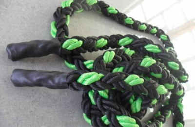 8 Strand Polypropylene Rope for Tug and Boat Green Black