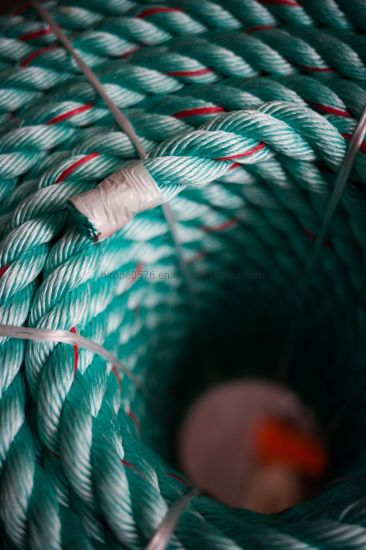 10mm Green with Red Flecks Polysteel Rope (220m Coil)