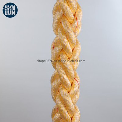 Good Quality Polypropylene and Polyester Mixed Rope Mooring Rope