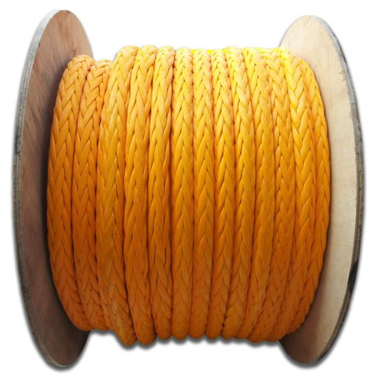 Polyester Cover Synthetic UHMWPE/Hmpe Marine Towing Rope for Mooringwinch Rope