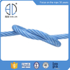 3/6 Strand Playground PP Combination Compound Steel Wire Rope + FC/Iwrc for Fishing