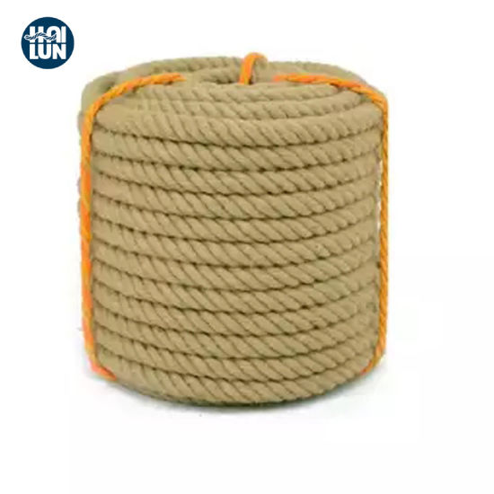 100% Jute High Quality Sisal Yarn Boad Marine Rope