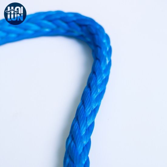 Factory Wholesale 12 Strand UHMWPE/Hmpe Rope for Mooring