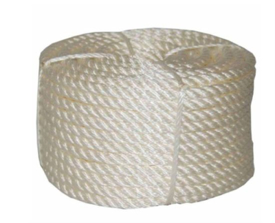 5/8 in. X 100 FT. Twisted Nylon Rope Coilette