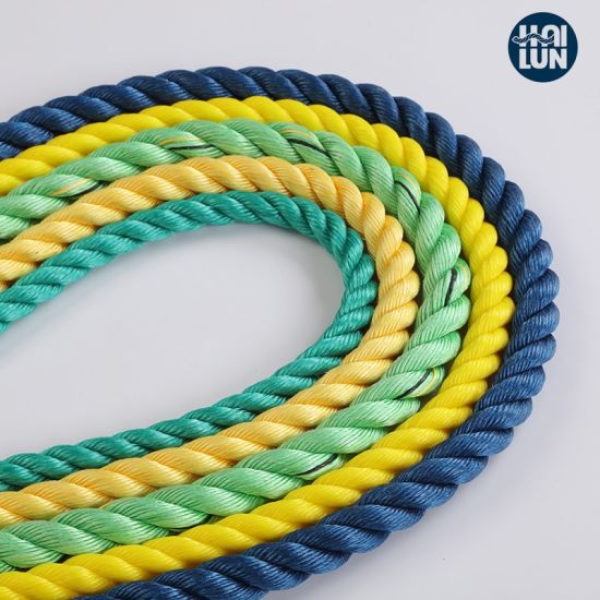 Colorful Polypropylene PP Marine Rope for Fishing and Mooring