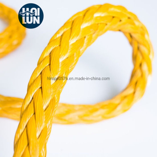 12 Strand Synthetic UHMWPE/Hmpe Hmwpe Rope Marine Rope for Mooring