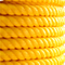 100% PP Raw Material 8/12 Strand Yellow Polypropylene Rope